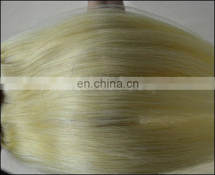 High Quality #613 Blonde Hair with Brown Highlights