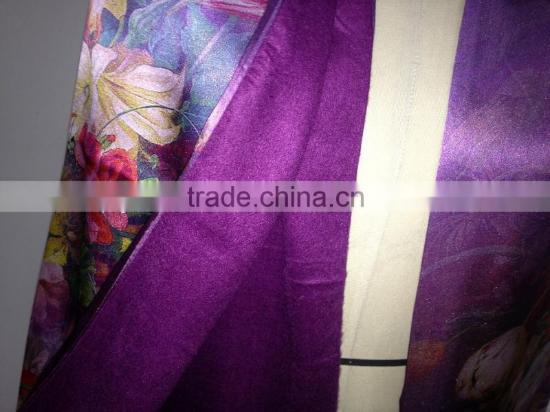 Printed silk shawl in different designs