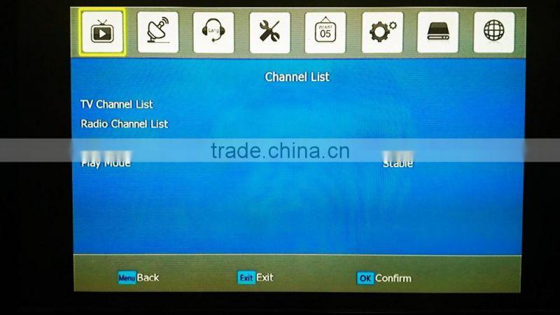 factory wholesale support wifi biss powervu cccam scrambled