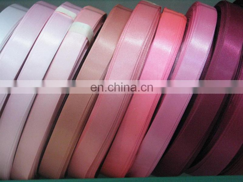 wholesale choice materials 4inch bright satin ribbon for garment