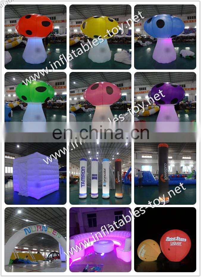 Wedding Party Decoration Inflatable Letter With Led Light /Air Blown Words Inflatable Numbers For Event