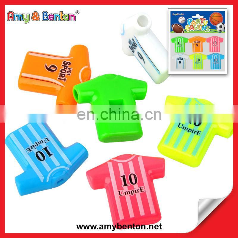 Hot Sale Cheap Wholesale Colorful Plastic Whistle In Bilk