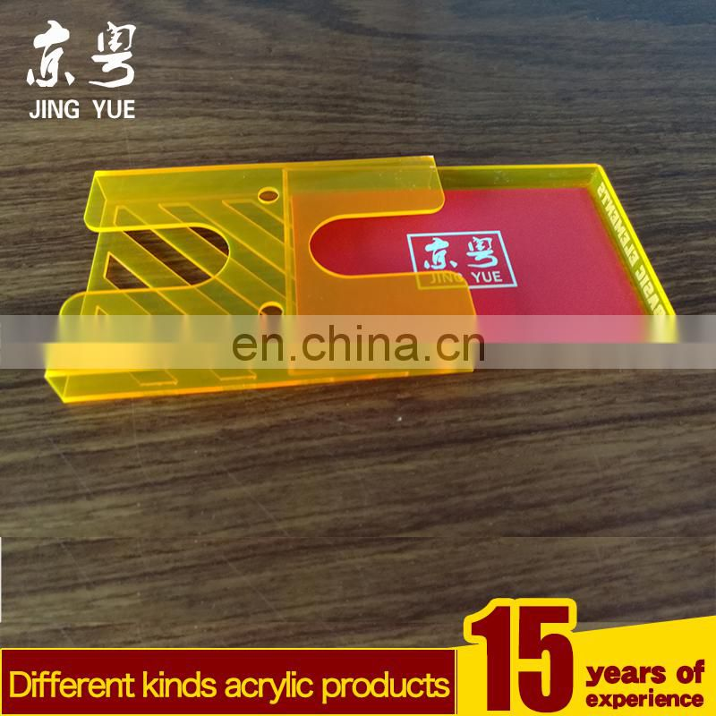 clear plastic acrylic business card boxes of Acrylic Office Supplies ...