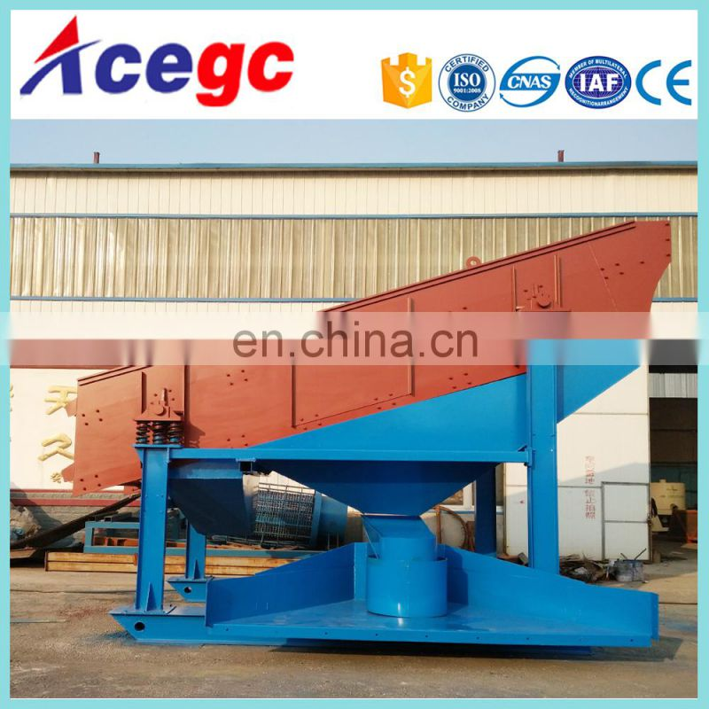 Stone gravel sand mine gravity separator machine vibrating screen for sale Image