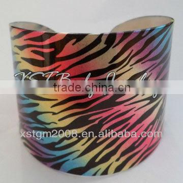 2013 New Arrival wholesale plain wood bangle bracelets printed body jewelry piercing China