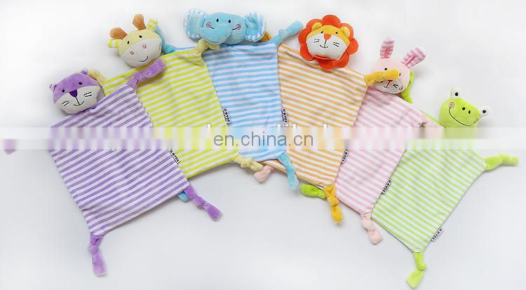 Lion Animals Plush Toys Baby Cradle Hand Towel