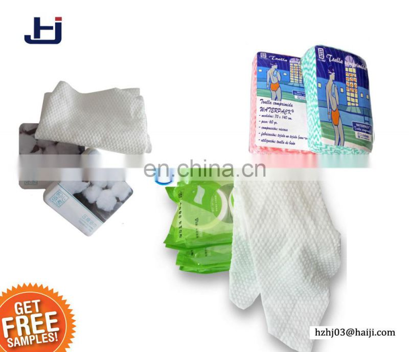 Wholesale direct manufacture of cotton fabric compressed towel