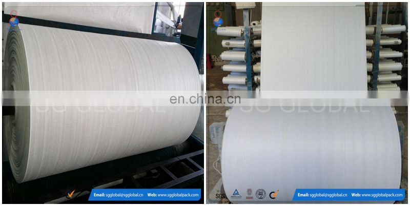 Moisture proof laminated PP woven fabric