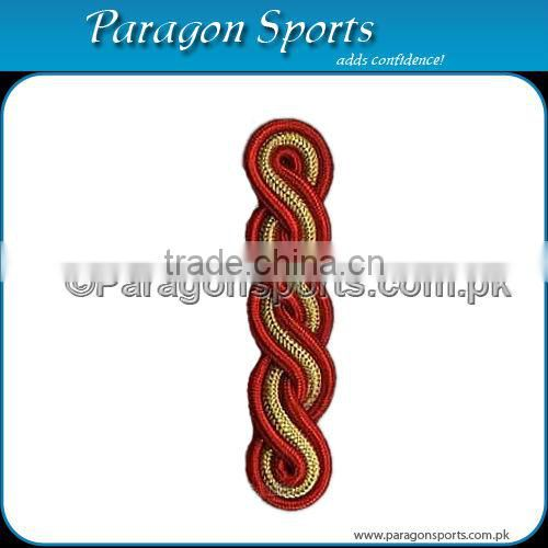 Uniform Cord Shoulder in Gold & Red Cord