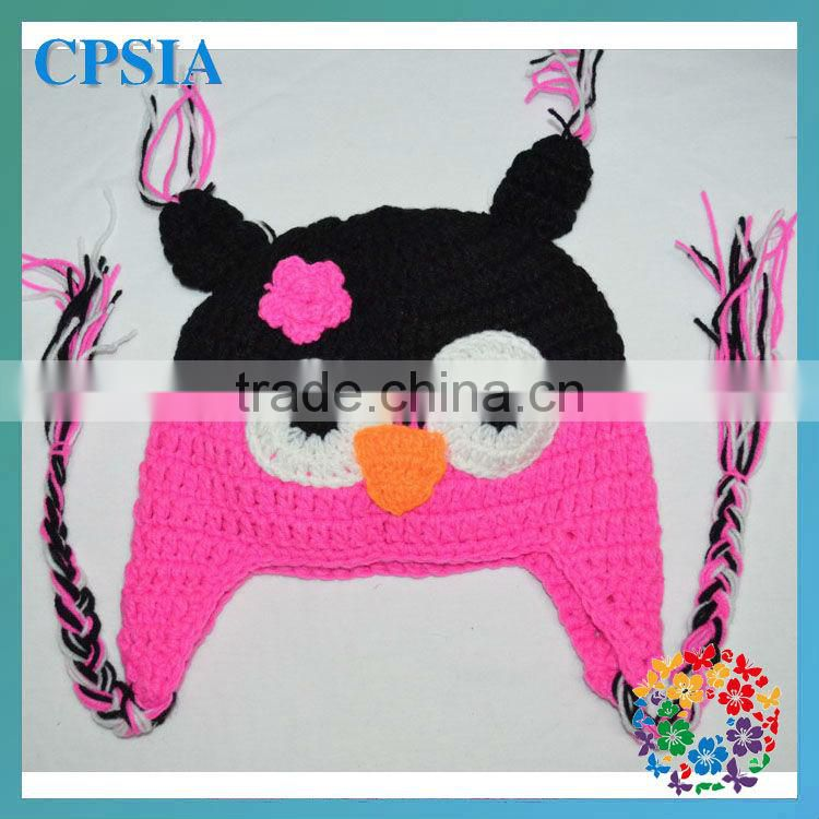 new arrivel!HOT cute animal crochet hats for baby new design baby caps
