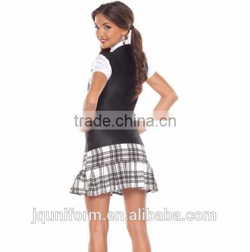 cc04daa00 ... Juqian 2016 School uniform manufacturers high quality junior high school  uniforms suspender skirt