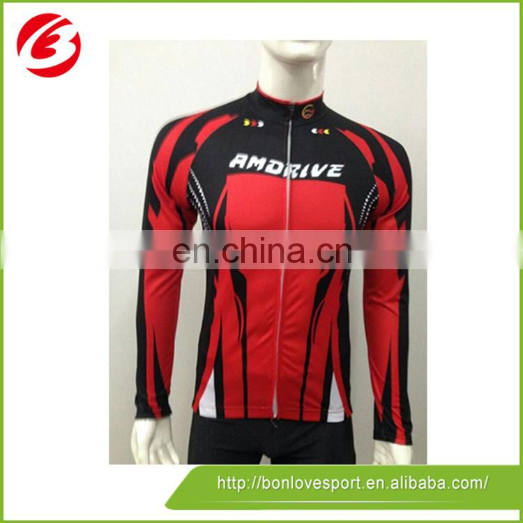 Best Price Wholesale Cycling Uniform Cycling Jersey Long Sleeve For Men