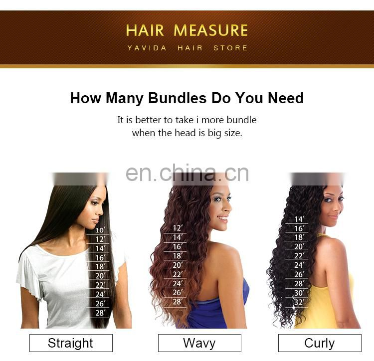 xuchang yavida hair products co., ltd. virgin brazilian hair bundles with lace closure
