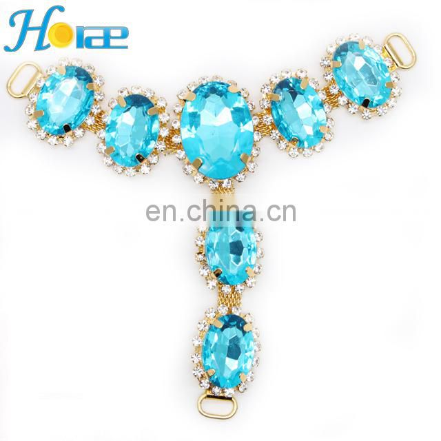 Brazil Style Fashion Sandal Chain Ornament For Shoes Accessory