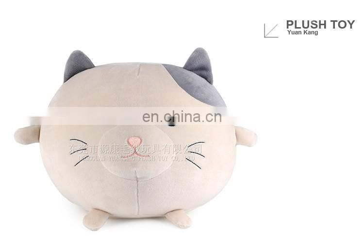 Costume plush big face animal mascot