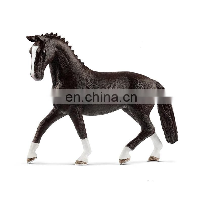 horse with boy figure and can move for souvenir