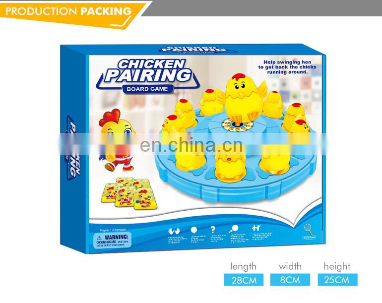 Wholesale intelligent kids toys eco friendly board game manufacturer