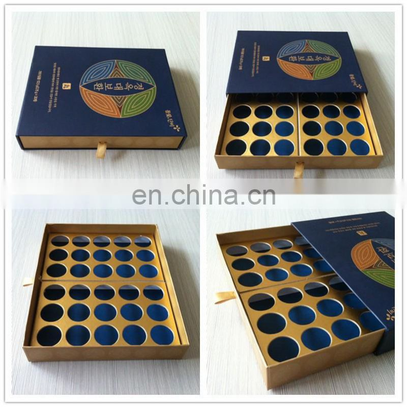 Cardboard high quality drawer style custom box