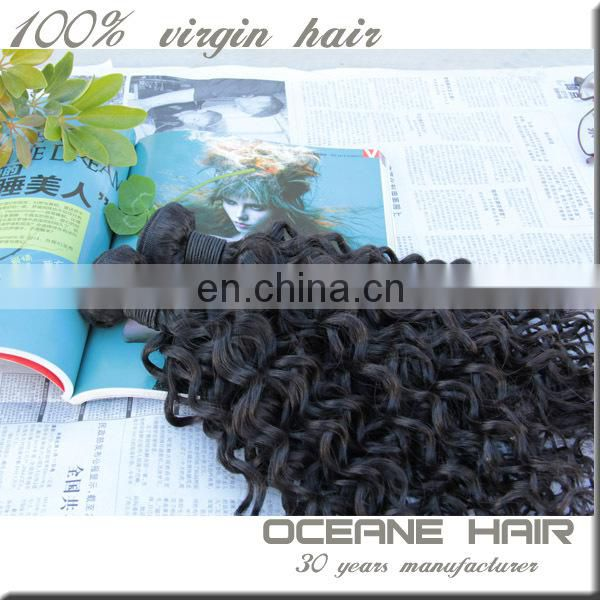 Promotion product factory price remy hair extension new style no chemical wholesale supply different types of curly weave hair
