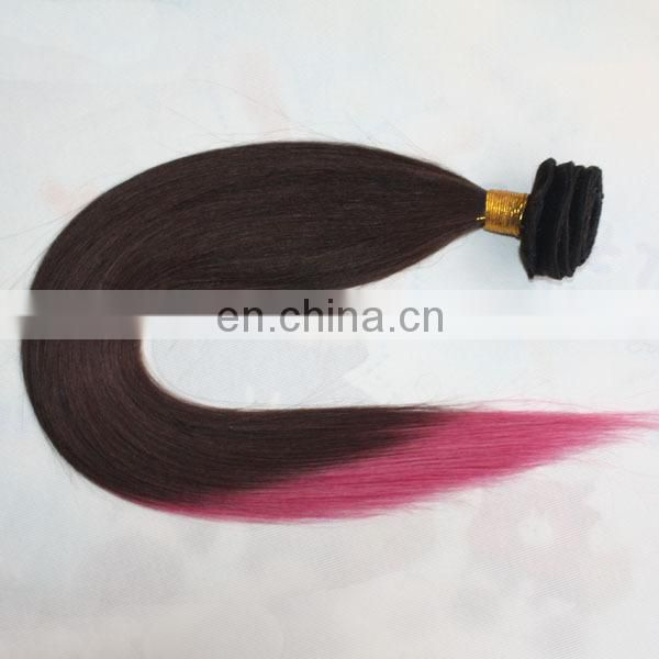 Machine double brazilian hair weft wholesale milky way hair