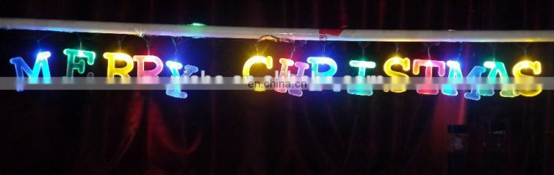 Solar Alphabet LED String Light