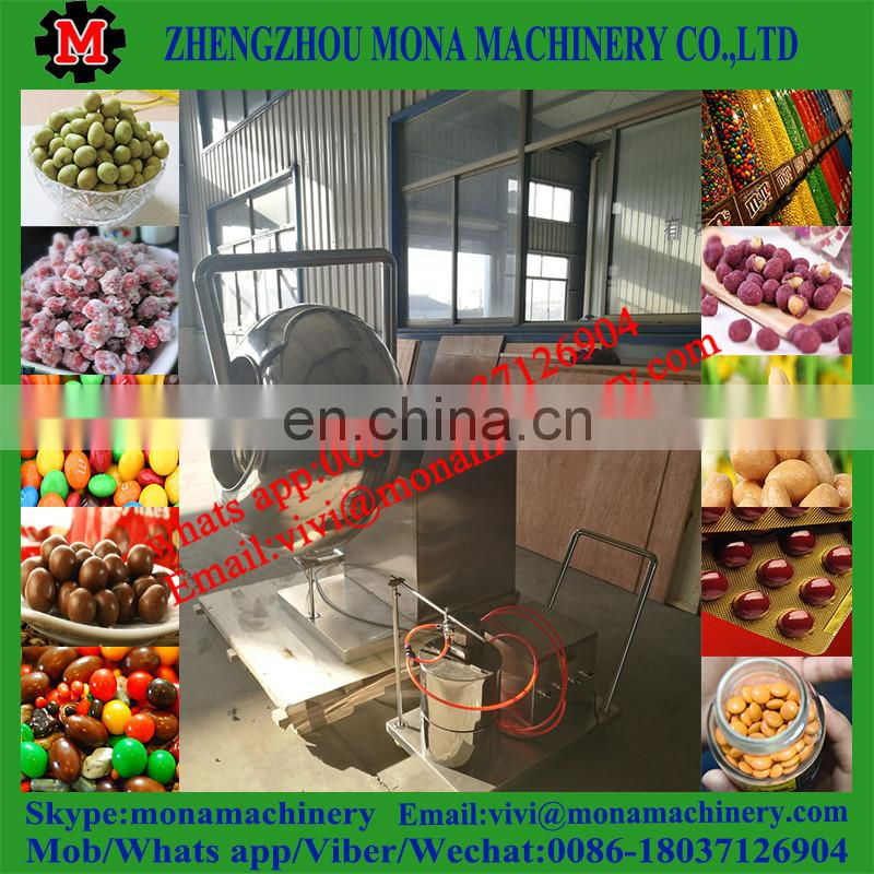 HOT SELLING small chocolate coating machine/nut coating machine/nuts sugar coating machine