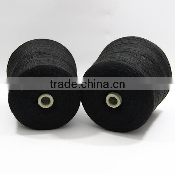 Good quality acrylic yarn high bulk nm9/2 color with black for sale