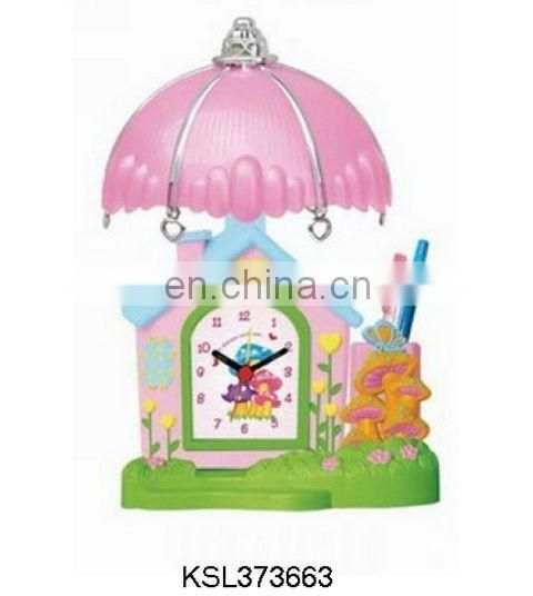 promotion gift desk lamp clock,crafts table clock
