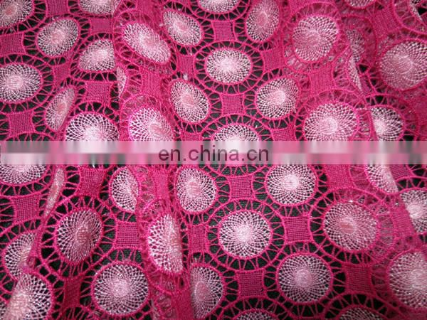 African chemical lace for weddingClothing material lace fabricParty dress lace guipure lace