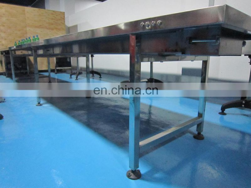 2015 latest Good quality shuttle type food belt conveyor for pitch supply meets ISO Standard