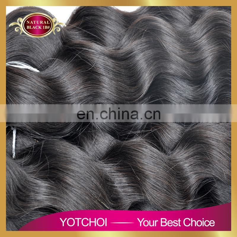 Wholesale price loose deep wave for distributors buying brazilian hair in china