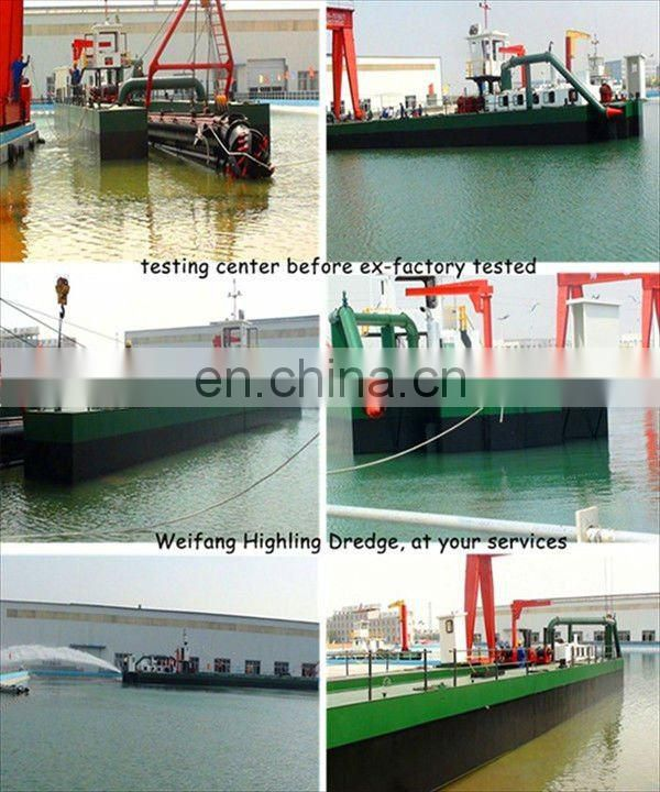 Shallow Water Sand Dredger
