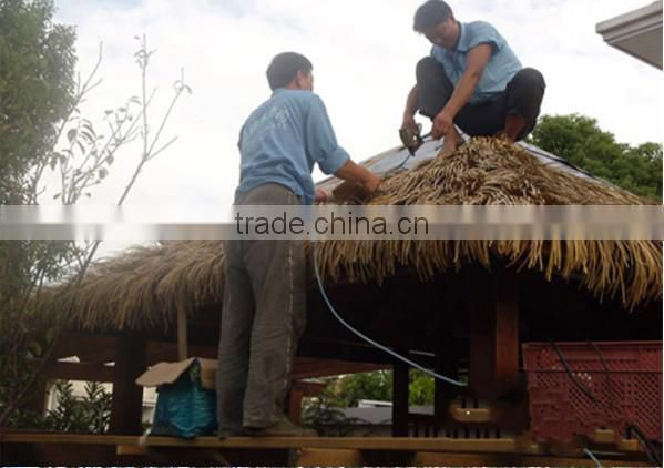 made in china Extrusion plastic synthetic thatch roof for decoration