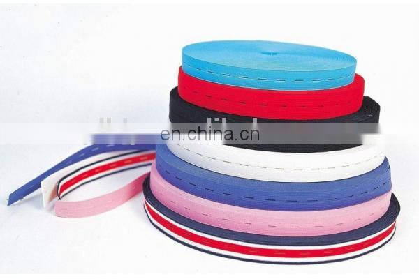 Paypal accepted wholesale 100% cotton jacquard elastic webbing