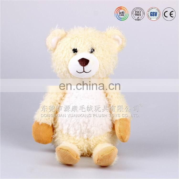 Small teddy bear plush toys for crane machines