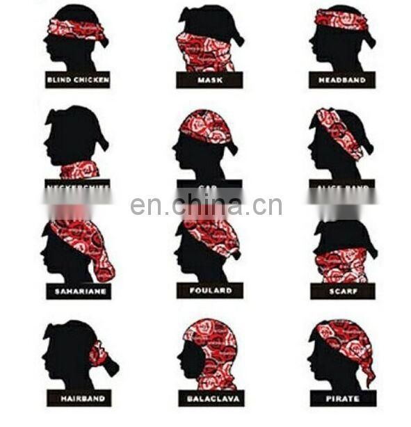 hot sale new products for 2016 lingshang neck tube seamless bandana,custom tubular bandana