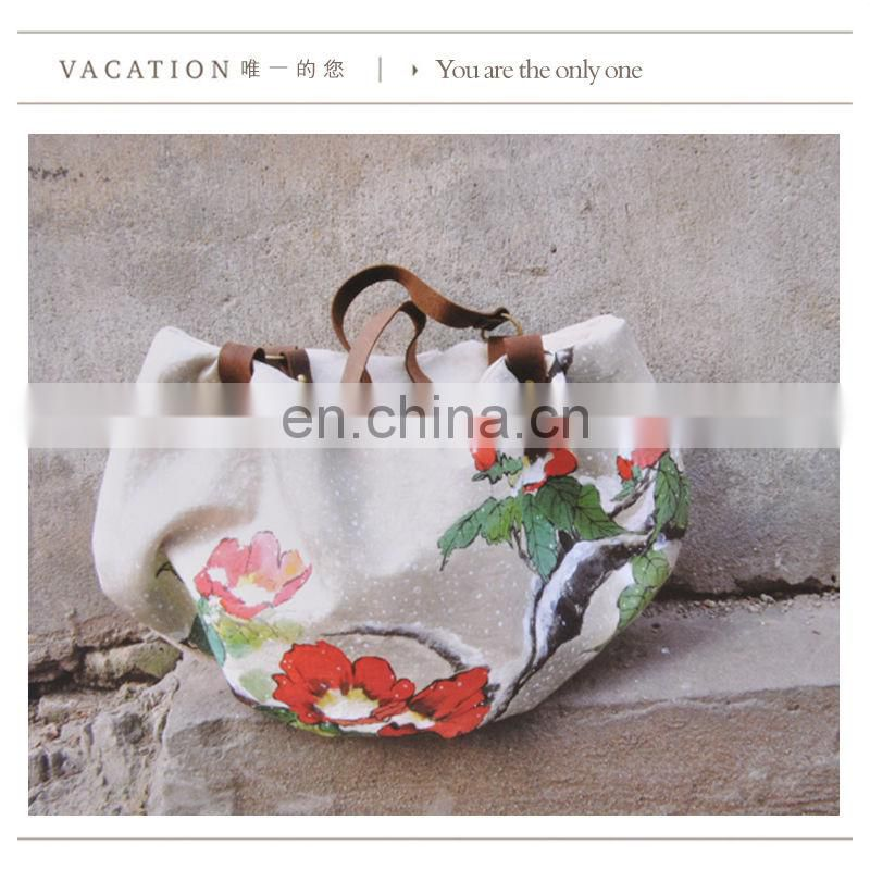 2015 the best handmade canvas girls' bag
