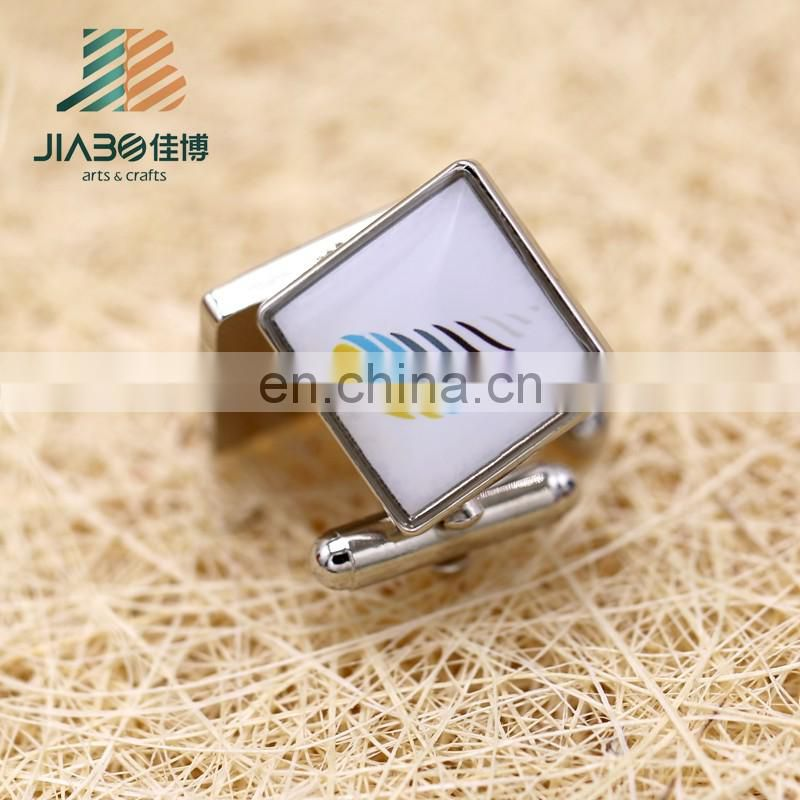 hot sell wholesale square metal custom swank cufflinks value