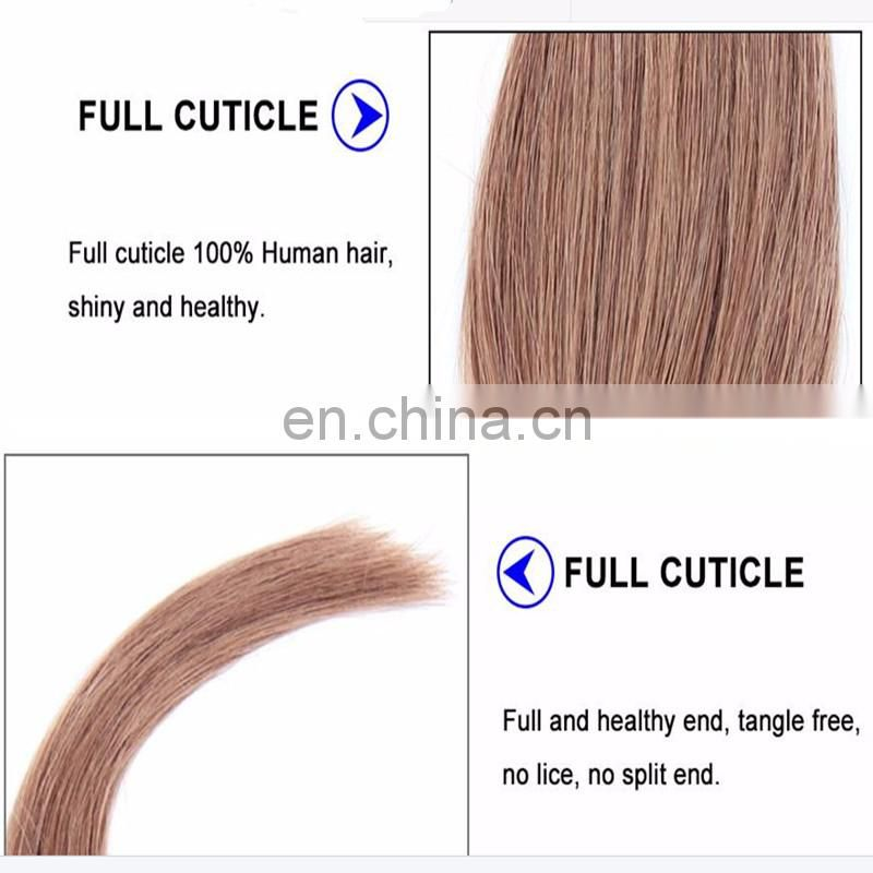 aliexpress skin weft virgin remy hair extension,wholesale african american blonde human double drawn tape in hair extensions 24""
