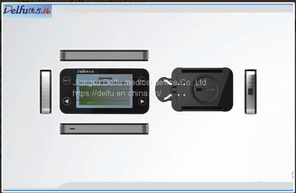 DXCZ-001 Continuous Glucose Monitor Displays Glucose Levels and  Trends Every 5 minutes Up To 72 Hours Image