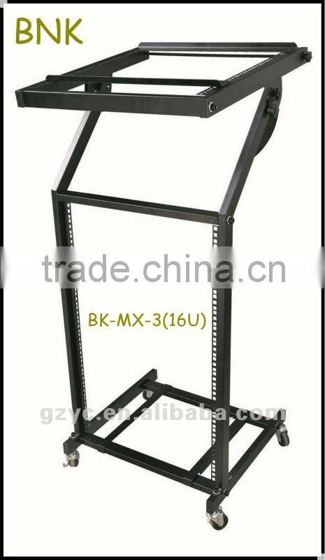 MX-3- hot sale16U DJ Mixer Rack 12U Stand, /for CD, mixer