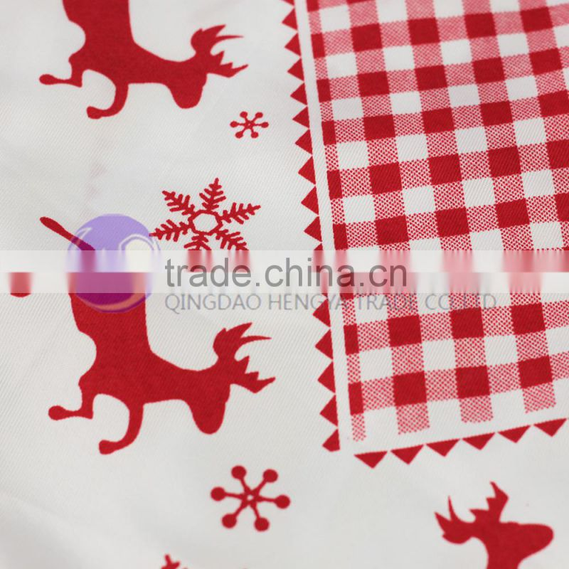 cheap wholesale printed dining christmas table runner