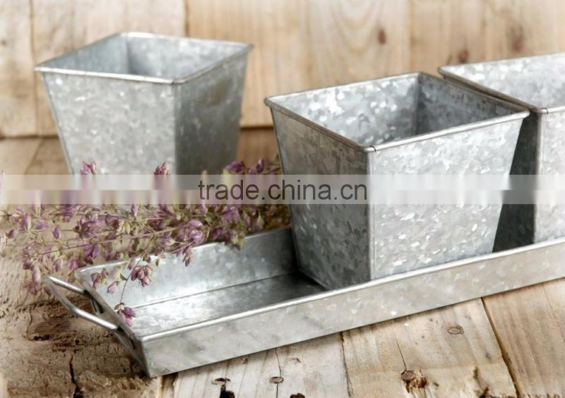 copper plated hammered bowl planters