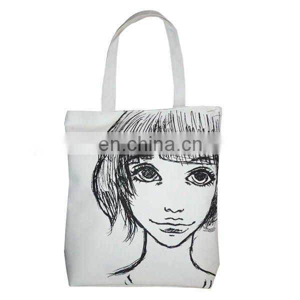 Cheap Sketched Canvas Bag