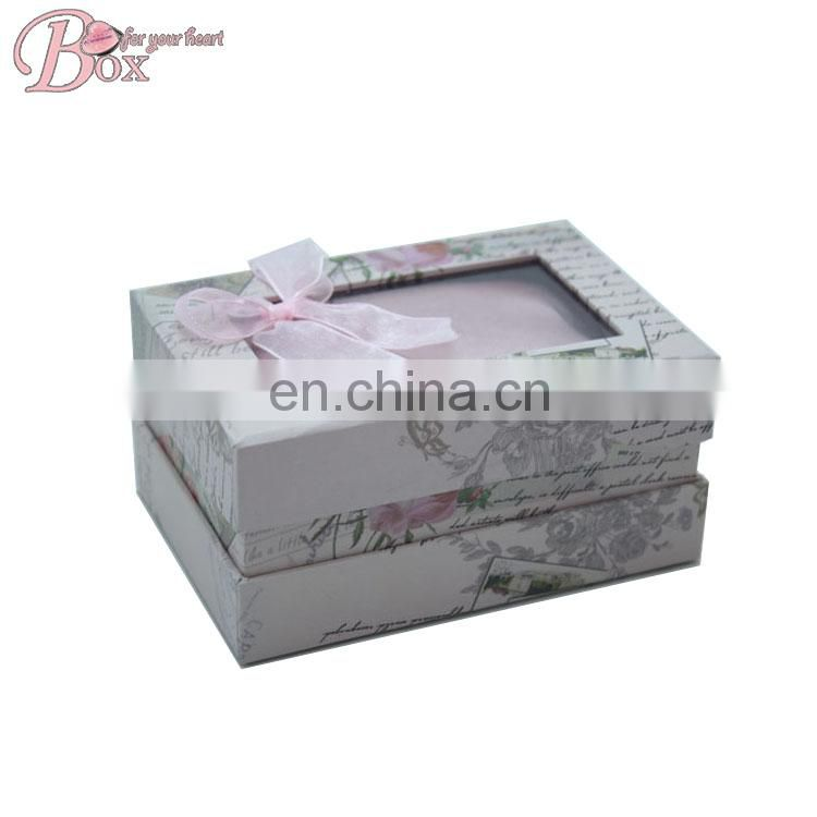 Cheap Wholesale Branded Custom Gift Wrap Box for Watch with Lid