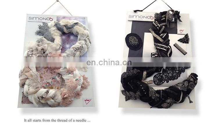 Wholesale cotton string ribbon trim for garment accessories