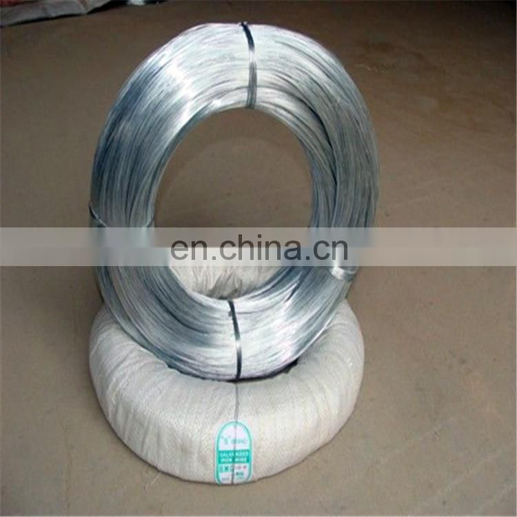 gi wire 2.5mm pvc coated 7/0.33mm galvanized steel wire for binding wire
