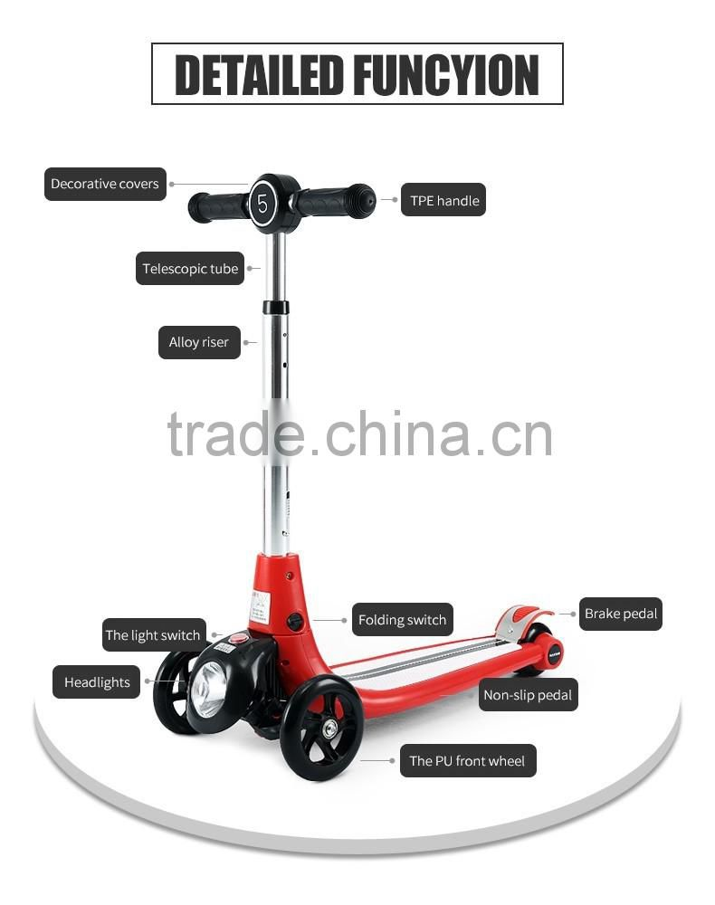 Rastar best gift made in china toy 3 wheel folding kids scooter