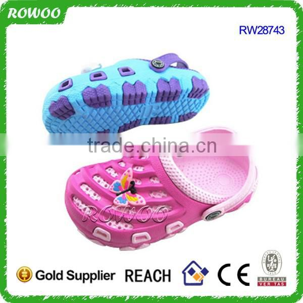 factory direct fish style colorful kids light eva clog garden shoes