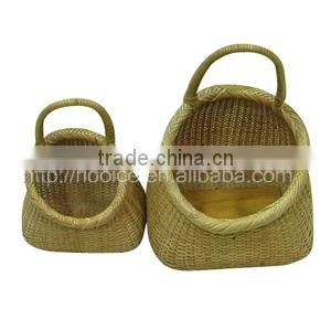 BASKET/Woven rattan basket/DECORATIVE BASKET(DAYSPA) DS-WZ754